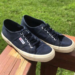 Navy Superga Sneakers 41